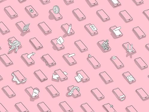 Паттерн телефоны
