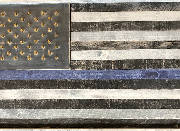 .40 Cal Law Enforcement Flag