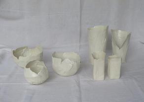 Papier et porcelaine  90.- / 200.-
