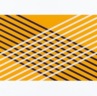 7. Espace jaune violet blanc (diptyque)