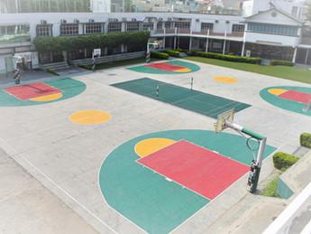 Nehru World School Ghaziabad Basketball Courts