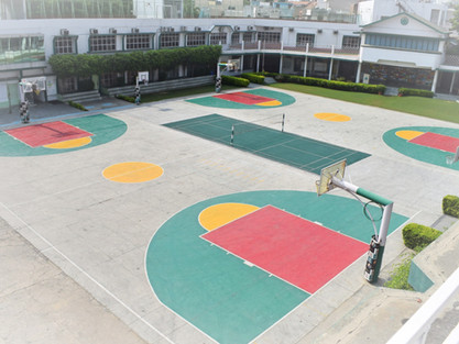 Nehru World School Ghaziabad Basketball Courts