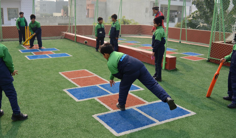 Nehru World School Cricket