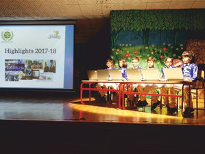 Nehru World School Ghaziabad Annual Report Reading