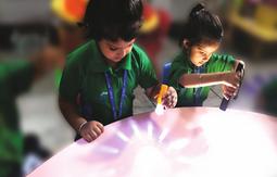 Nehru World School Ghaziabad Curious Students