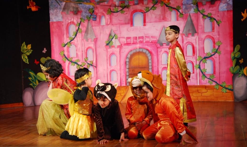 Nehru World School Stage Production