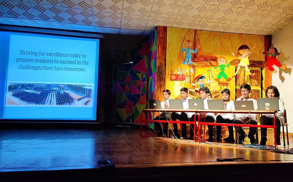 Nehru World School Ghaziabad Annual Report
