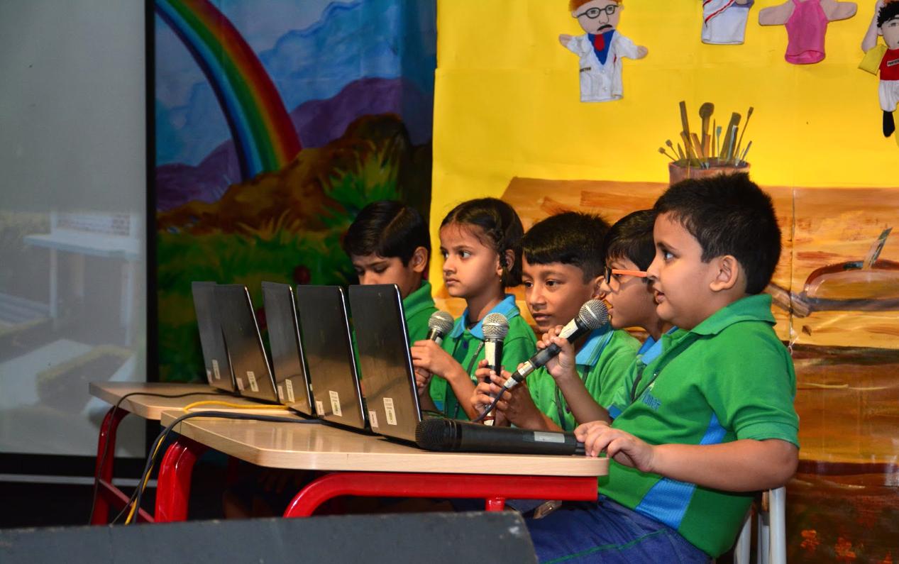 Nehru World School Presentation