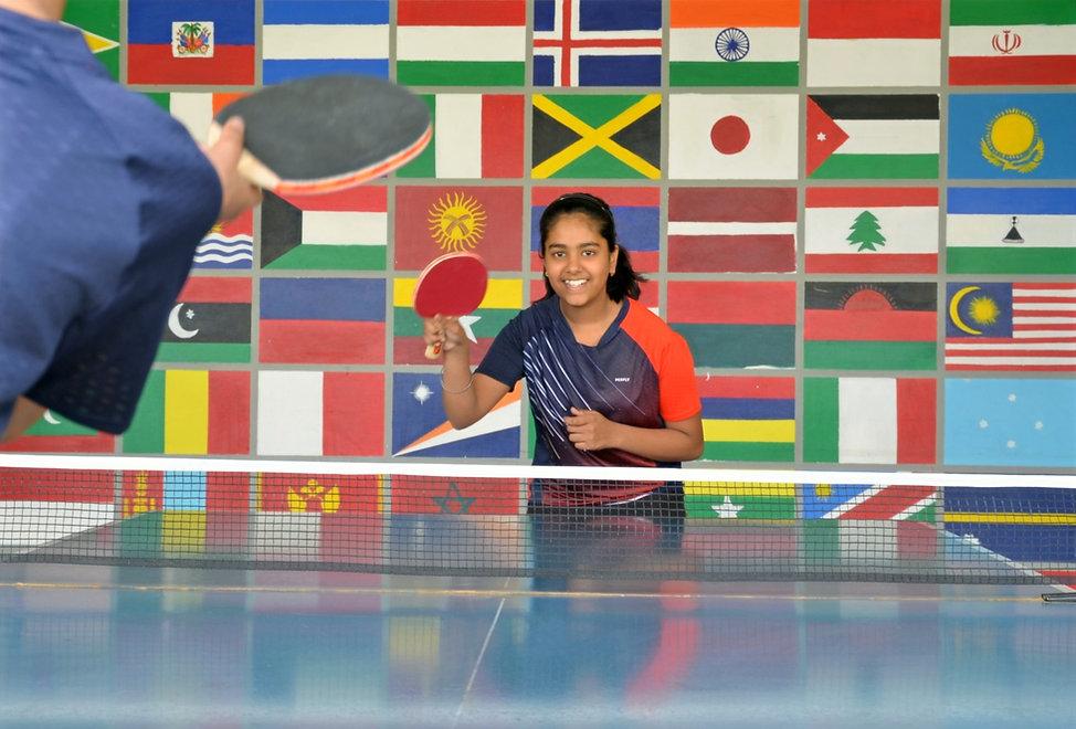 Nehru World School Ghaziabad Table Tennis