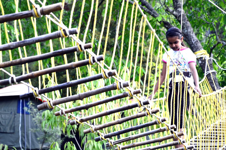 Nehru World School outdoor learning