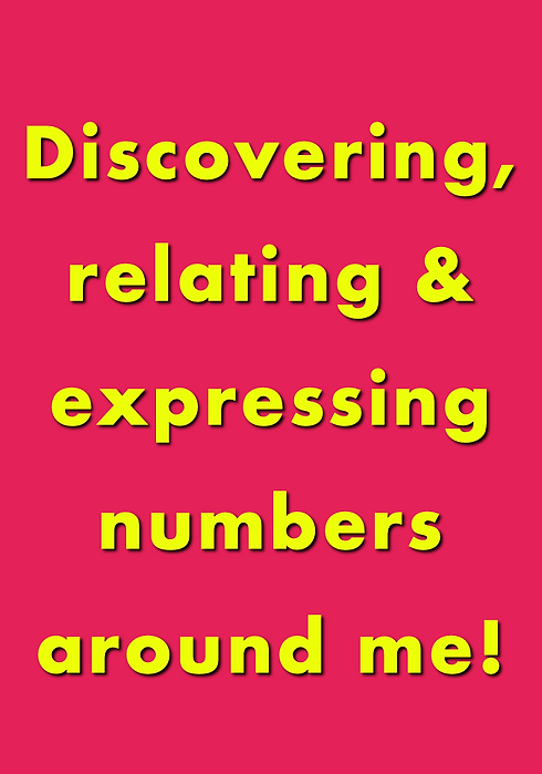 Discovering, relating & expressing numbe
