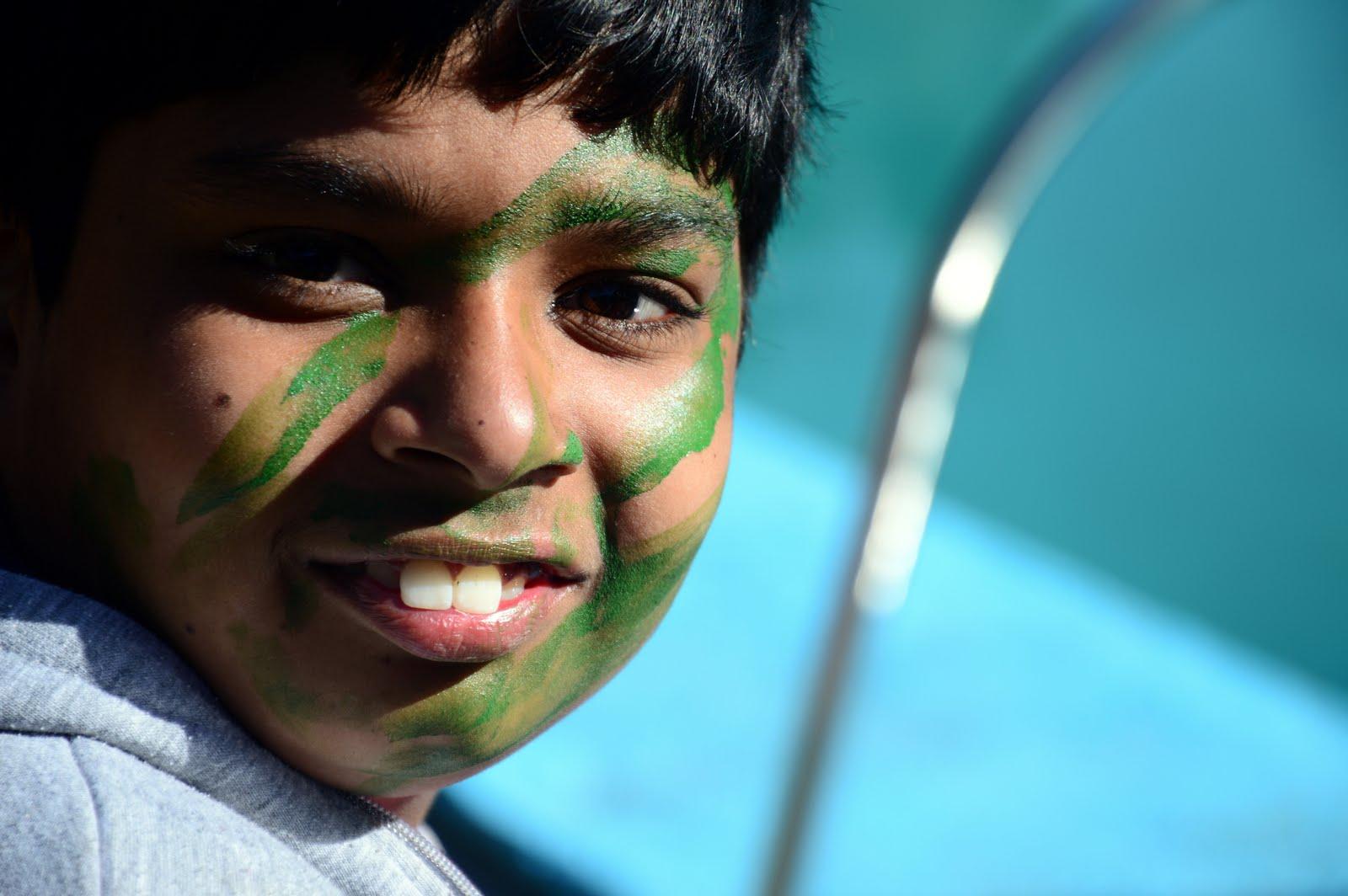 Nehru World School Happy Students