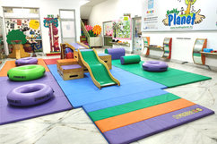 Nehru World School Ghaziabad Indoor Play area