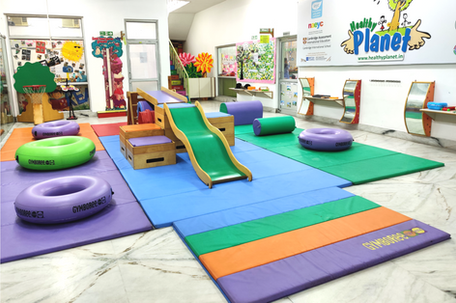 Nehru World School Ghaziabad Indoor Playarea