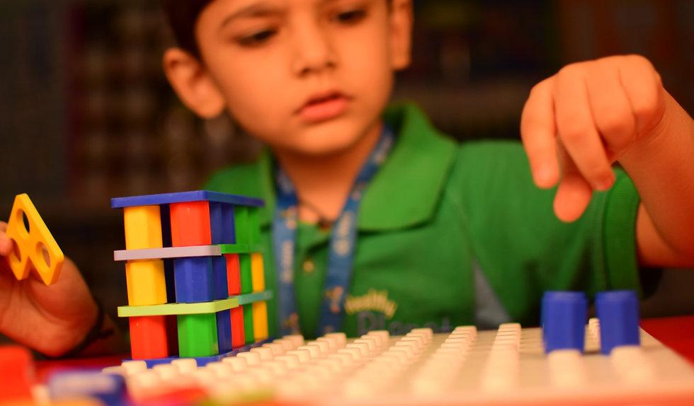 Nehru World School Ghaziabad Numicon Mathematics