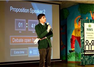 Nehru World School Ghaziabad Debate