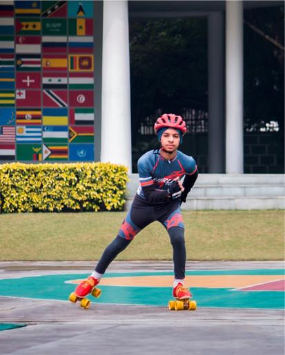 Nehru World School Ghaziabad Skating
