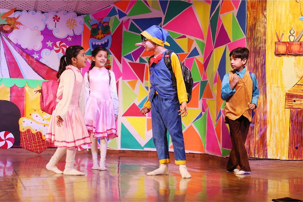 Nehru World School Ghaziabad Annual Production