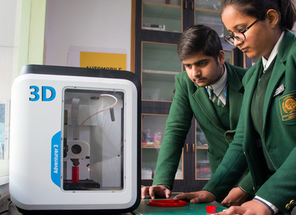 Nehru World School Ghaziabad 3D Printer