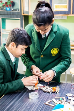 Nehru World School Ghaziabad Tinkering Lab