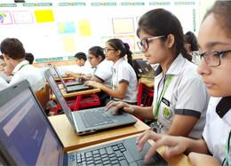 Nehru World School Ghaziabad Classroom