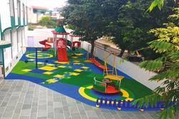 Nehru World School Ghaziabad Outdoor Playarea