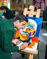 Nehru World School Ghaziabad Art Room