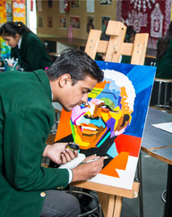 Nehru World School Ghaziabad Art Room