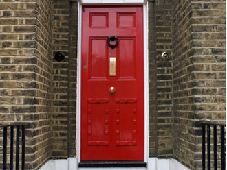 """I See a Red Door, and I Want it Painted Black."" No, Keep it RED!"