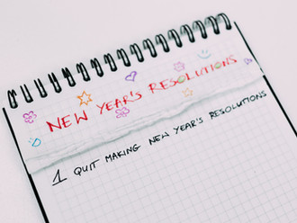 Plan for New Year's Resolutions Early