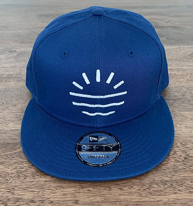 Sun Lab Logo New Era 950 Snapback Hat - Royal