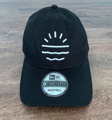 Sun Lab Logo New Era 920 Dad Hat - Black