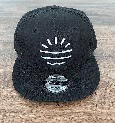 Sun Lab Logo New Era 950 Snapback Hat - Black