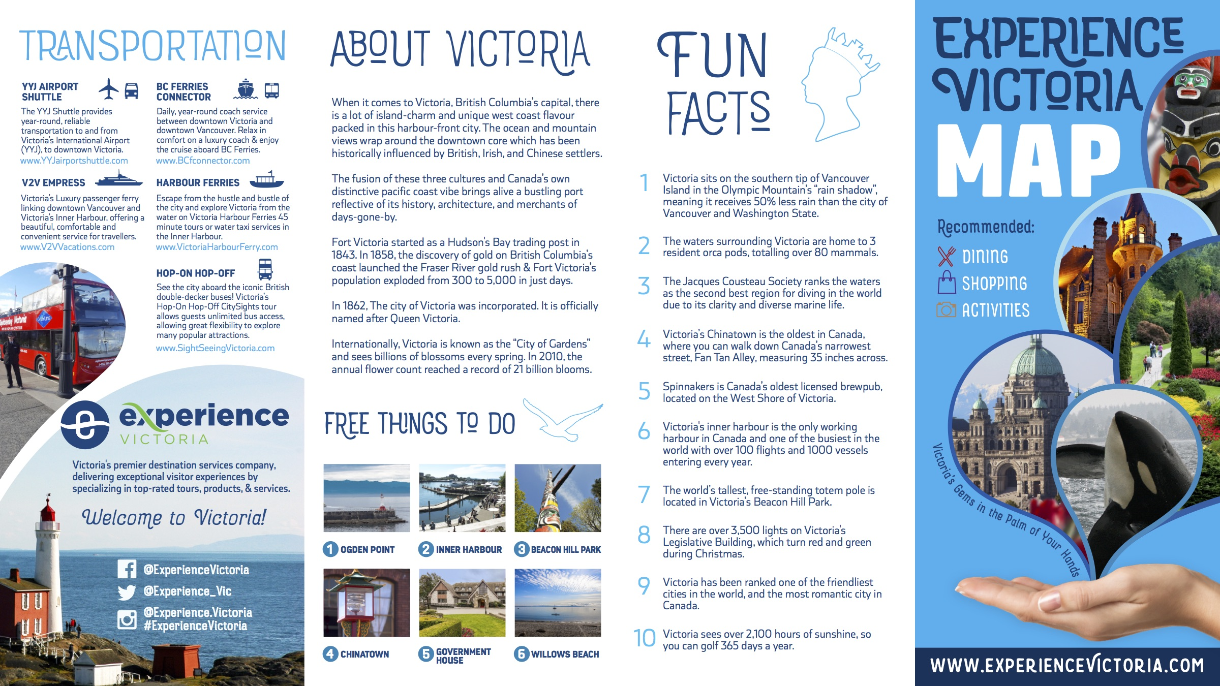 Experience Victoria Web Map