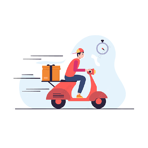 pngtree-fast-food-delivery-man-png-image