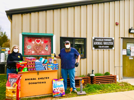 FTGOP Donates to the Township Animal Shelter