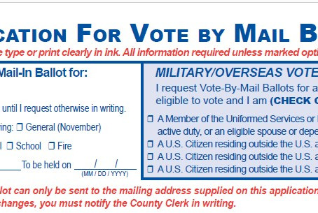 How to apply for Vote By Mail (VBM)