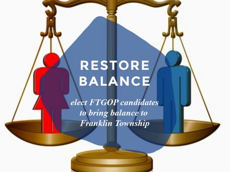 Restoring Balance in Franklin Township