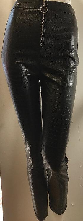 Black snake print legging