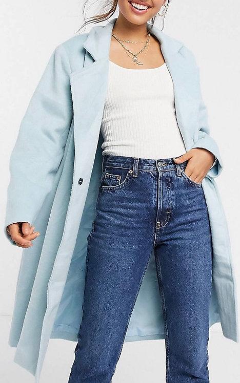 Sky Blue Classic Coat