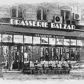 Paris The Left Bank - Le Balzar