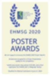2020 EHMSG Poster Awards.png