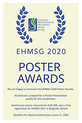 2020 EHMSG Poster Awards.png