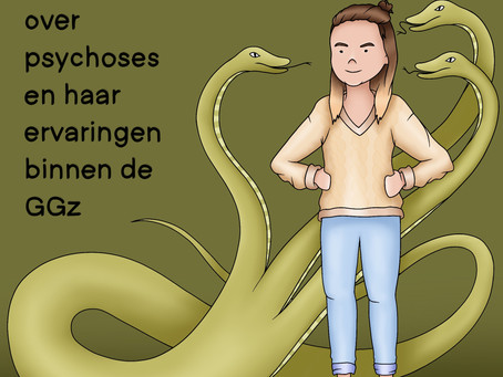 Hoe Anne Fleur Dekker (26) haar schizofrenie ervaart