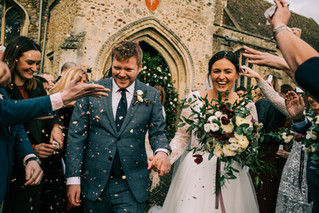 R & L's Romantic Winter Wedding