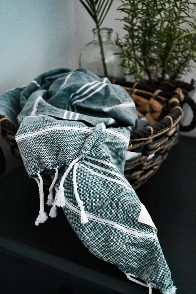 Tousled Hand Towel, Bathroom Towel