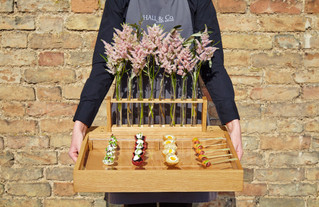 How many canapes per person should we have at our wedding? | Cambridge Wedding Caterer