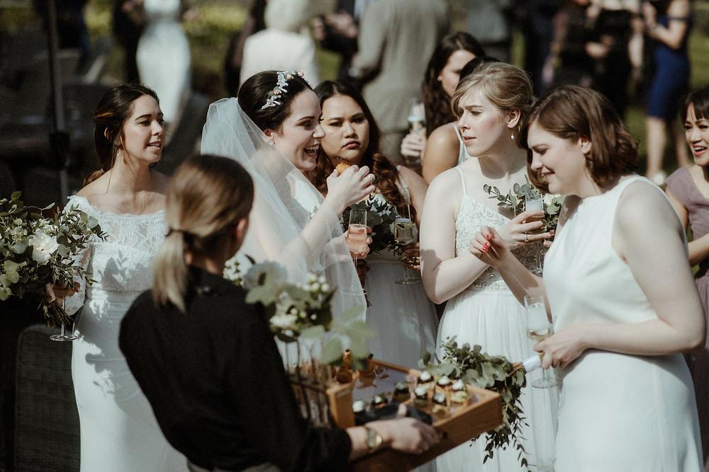 Canapés Cambridge Wedding Caterer