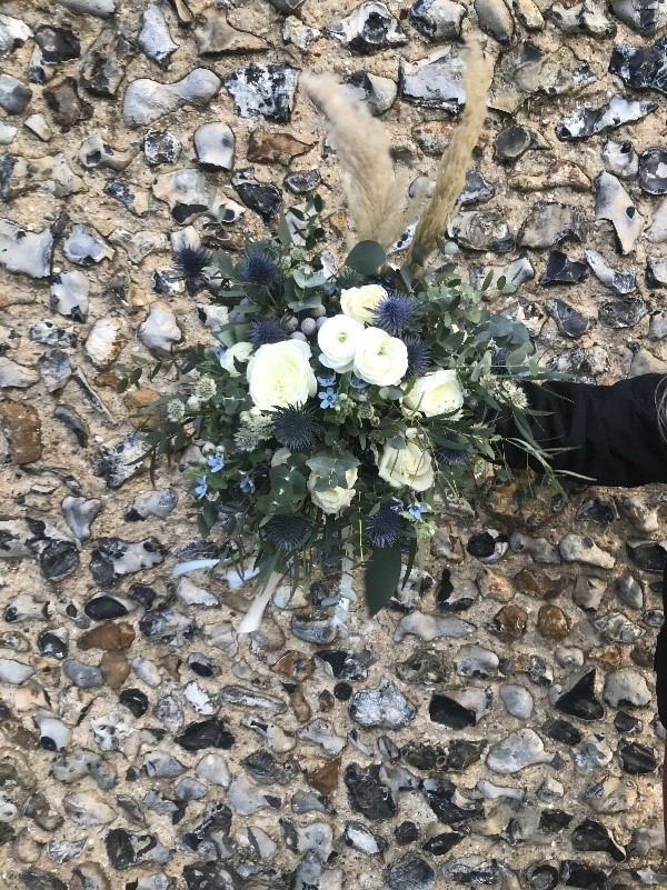 A bouquet created by our team last December