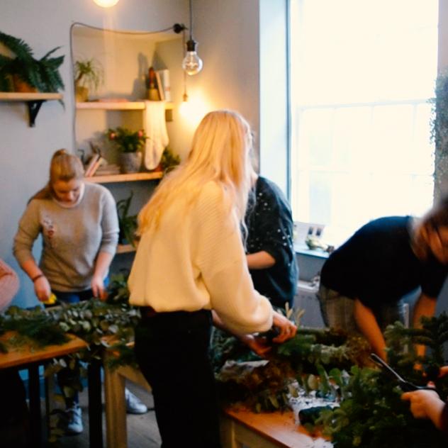 Wreath Making with Sophie Kate Blogs